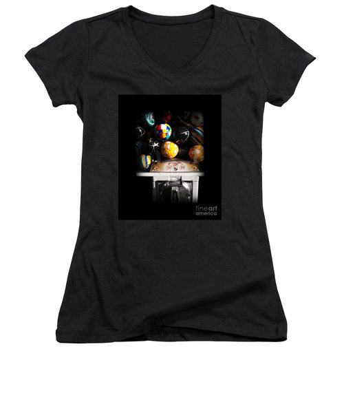 Series - Gumball Memories 1 - Iconic New York City Women's V-Neck (Athletic Fit)