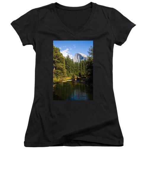 Half Dome Yosemite National Park Women's V-Neck