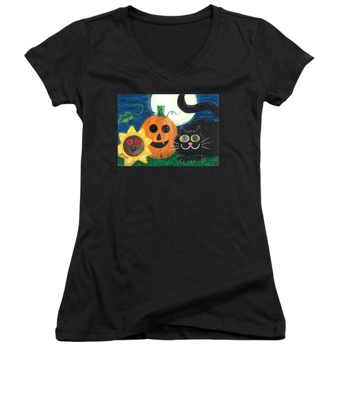 Halloween Fun Women's V-Neck (Athletic Fit)