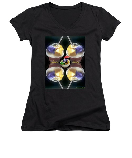 Halo Halo Desert Women's V-Neck T-Shirt