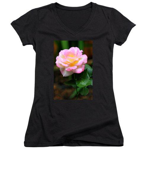 Hand Picked For You Women's V-Neck T-Shirt (Junior Cut) by Deborah  Crew-Johnson