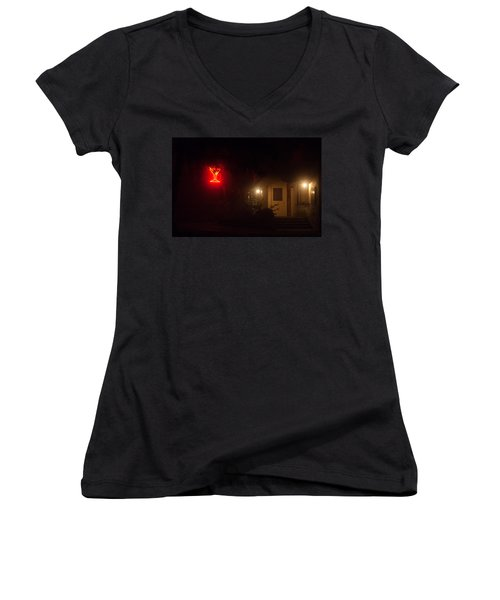 Hansel And Gretel Are All Grown Up Now Women's V-Neck T-Shirt (Junior Cut) by Alex Lapidus