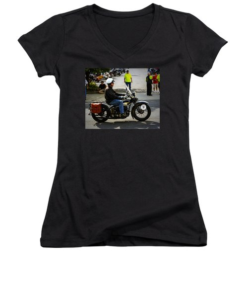 Harley 9 Women's V-Neck