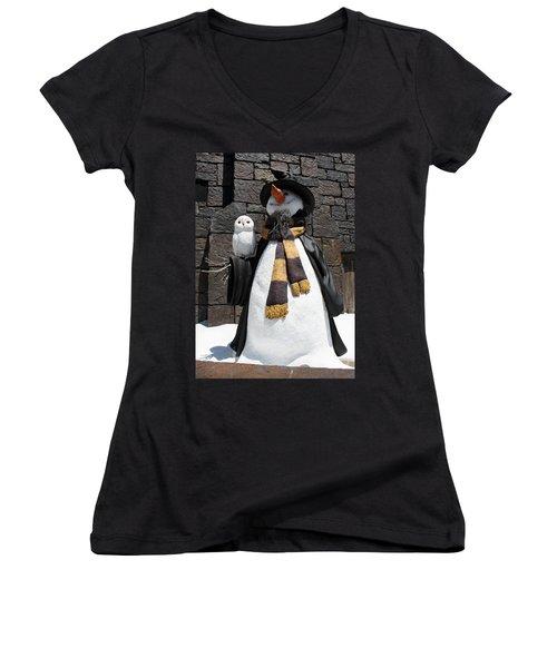 Harry Christmas Women's V-Neck T-Shirt