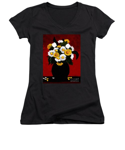 He Loves Me... Women's V-Neck (Athletic Fit)