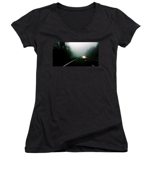 Headlights Women's V-Neck T-Shirt
