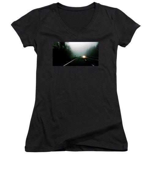 Headlights Women's V-Neck T-Shirt