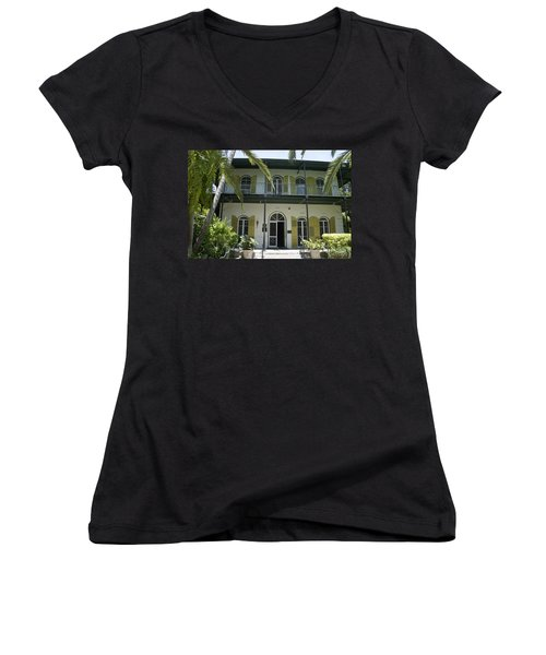 Hemingway's Hideaway Women's V-Neck (Athletic Fit)