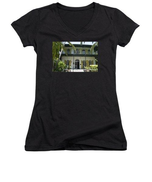 Hemingway's Hideaway Women's V-Neck T-Shirt