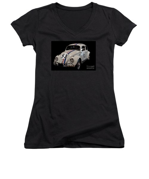 Herbie Women's V-Neck T-Shirt