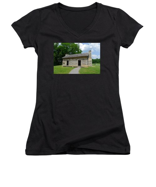 Hermitage Slave Quarters Women's V-Neck T-Shirt