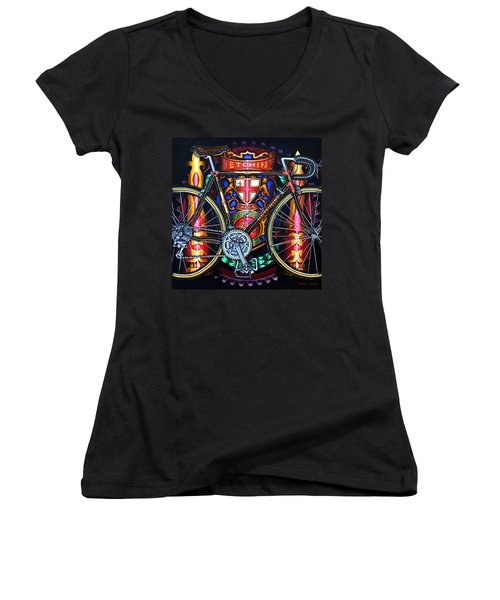 Hetchins Women's V-Neck T-Shirt