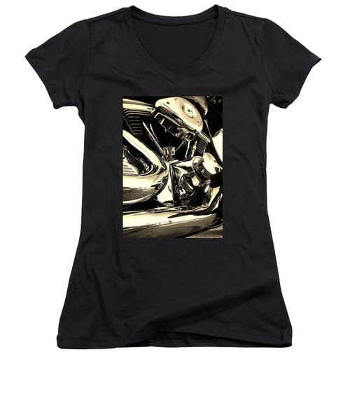 High And Mighty Women's V-Neck