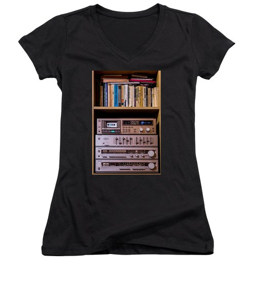High Technology Women's V-Neck