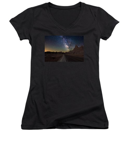 Highway To Women's V-Neck