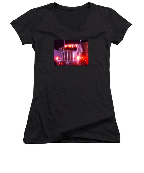 Highway To Hell Women's V-Neck T-Shirt