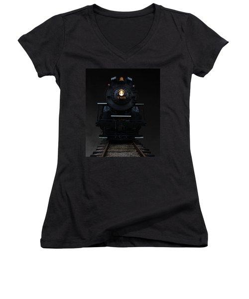 Historical 765 Steam Engine Women's V-Neck T-Shirt