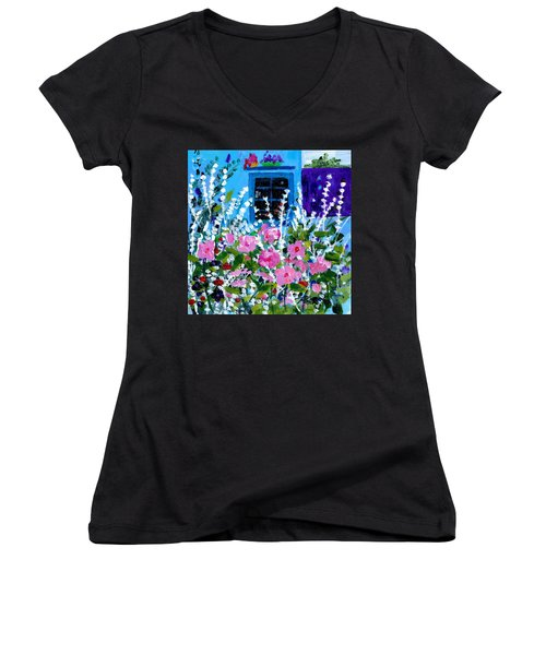 Hollyhock Alley  Women's V-Neck
