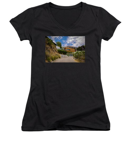 Hollywood  Women's V-Neck