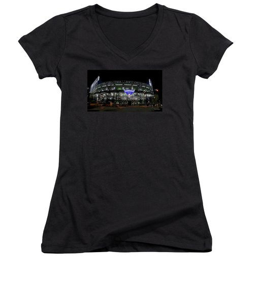 Home Of The Cleveland Indians Women's V-Neck (Athletic Fit)