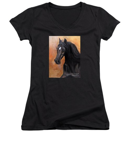 Horse - Lucky Star Women's V-Neck