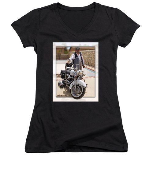 Horses Of Iron2 Women's V-Neck T-Shirt