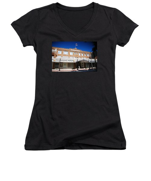 Hotel Jacaranda Women's V-Neck T-Shirt