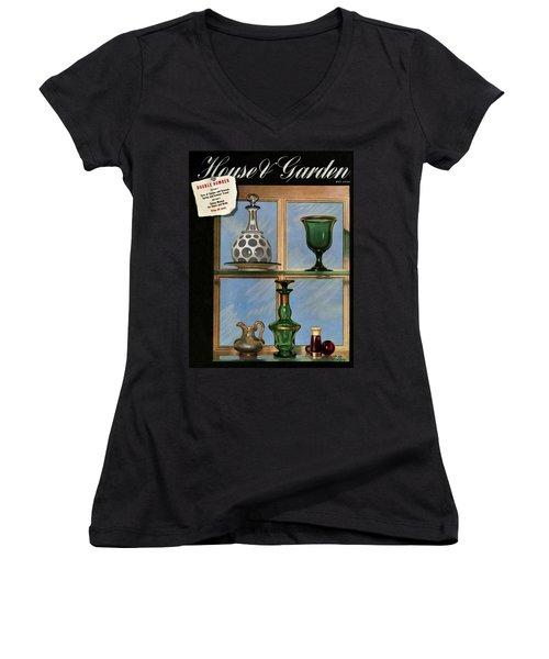 House And Garden Cover Women's V-Neck