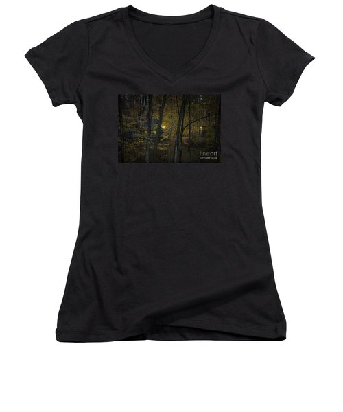 House In The Woods Women's V-Neck (Athletic Fit)
