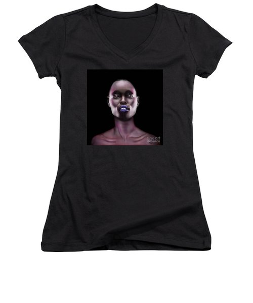 How Beautiful - The Color Purple Women's V-Neck