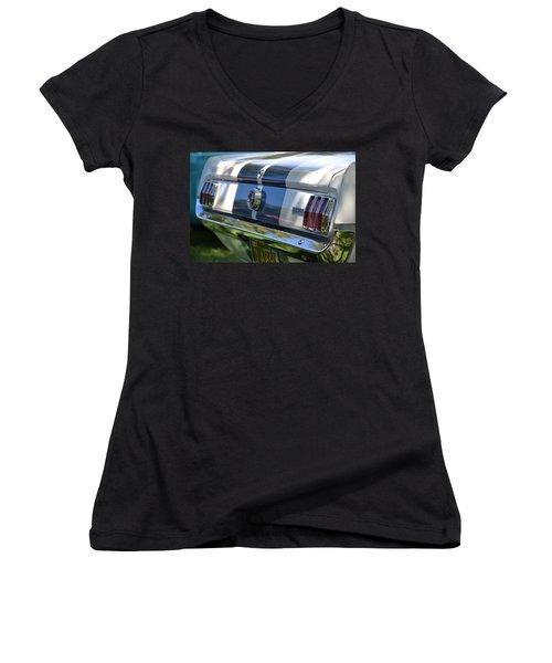 Women's V-Neck T-Shirt (Junior Cut) featuring the photograph Hr-22 by Dean Ferreira