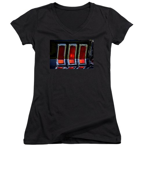 Hr-6 Women's V-Neck T-Shirt (Junior Cut) by Dean Ferreira