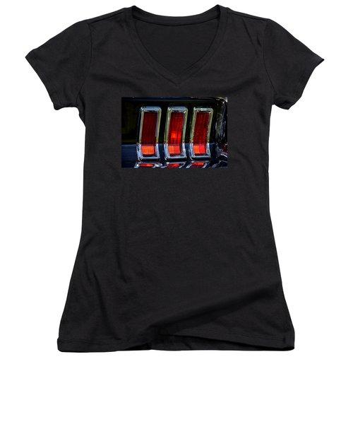 Women's V-Neck T-Shirt (Junior Cut) featuring the photograph Hr-6 by Dean Ferreira