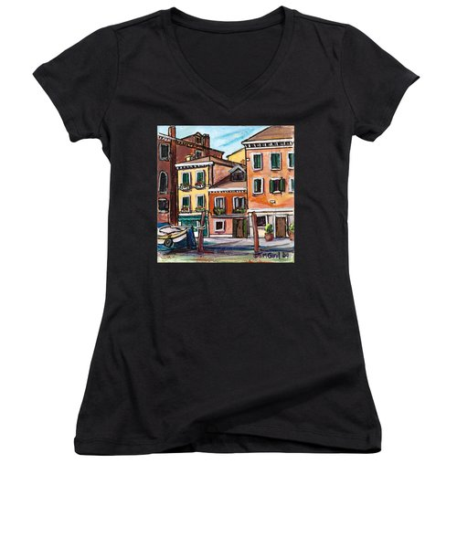 I Parked Out Front Women's V-Neck