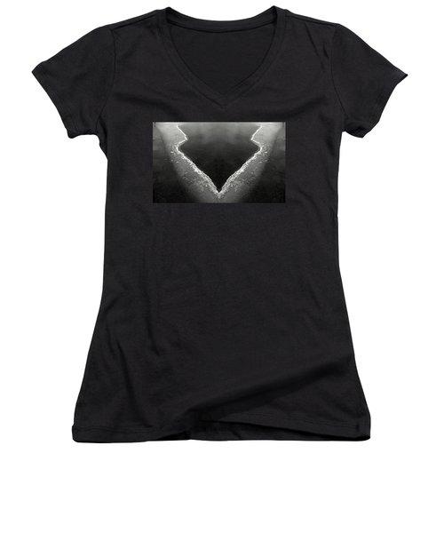 Iced Women's V-Neck T-Shirt