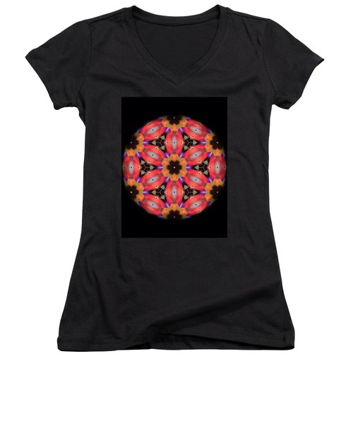 iCube Mandala Women's V-Neck T-Shirt