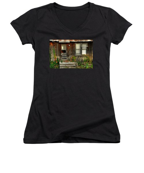 Idaho Retirement Estates Women's V-Neck (Athletic Fit)