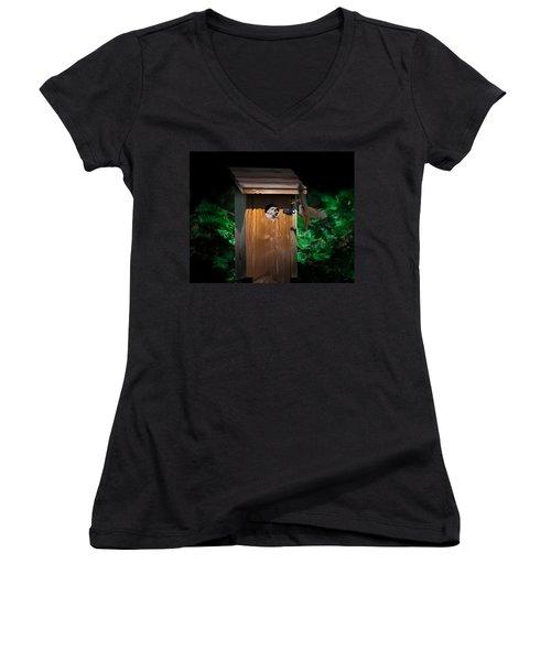 I'm Hungry Women's V-Neck T-Shirt