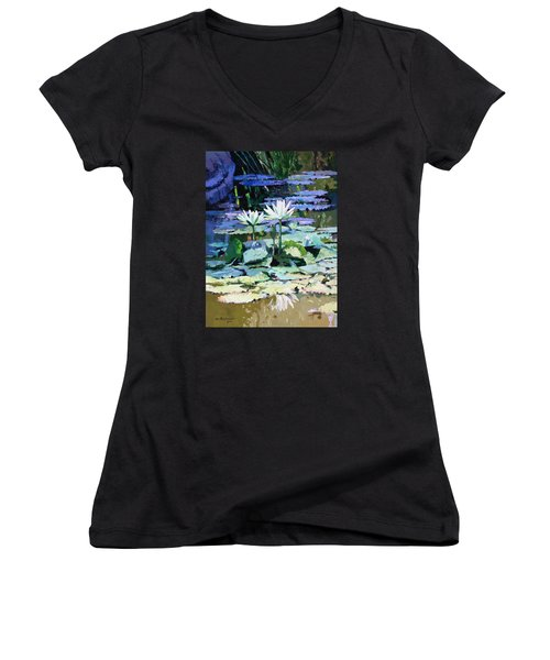 Impressions Of Sunlight Women's V-Neck T-Shirt