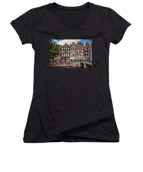 In Another Time And Place Women's V-Neck T-Shirt (Junior Cut)
