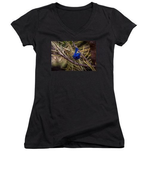 In The Tree Women's V-Neck (Athletic Fit)