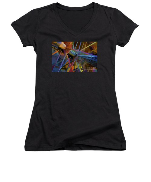 Industrial Light And Magic Women's V-Neck T-Shirt