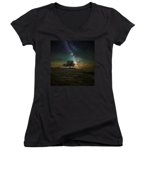 Infinity Women's V-Neck T-Shirt