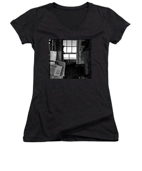 Inside Abandonment 2 Women's V-Neck T-Shirt