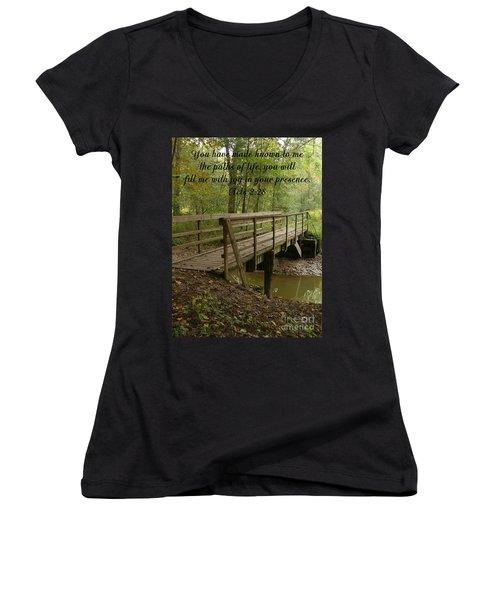Inspirations 4 Women's V-Neck T-Shirt