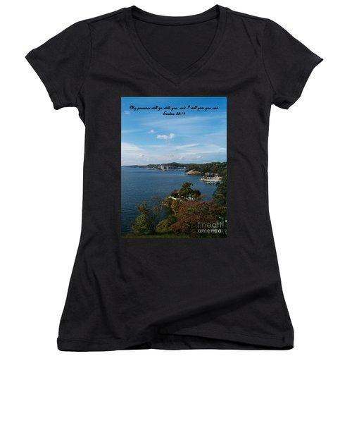 Inspirations 6 Women's V-Neck T-Shirt (Junior Cut)