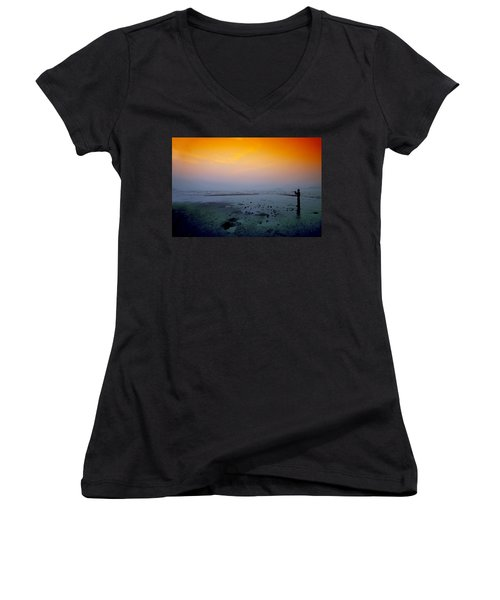 Into The Blue Women's V-Neck T-Shirt