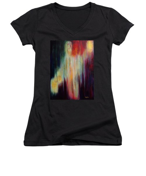 Into The Light Women's V-Neck (Athletic Fit)