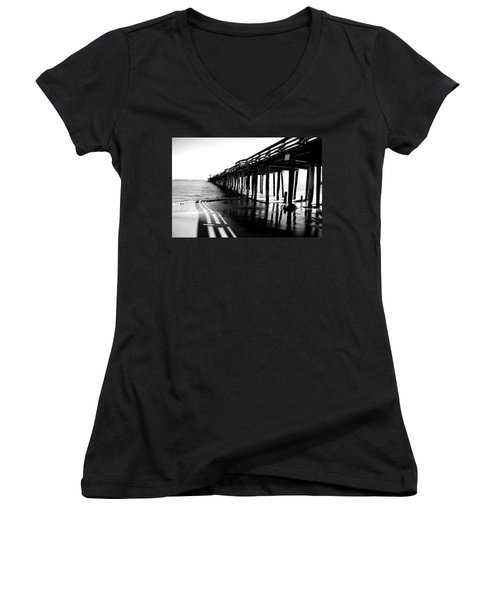 Into The Sea Women's V-Neck T-Shirt