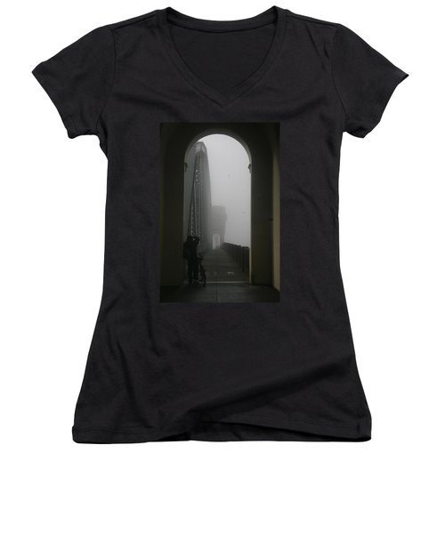 Into The Void Women's V-Neck T-Shirt